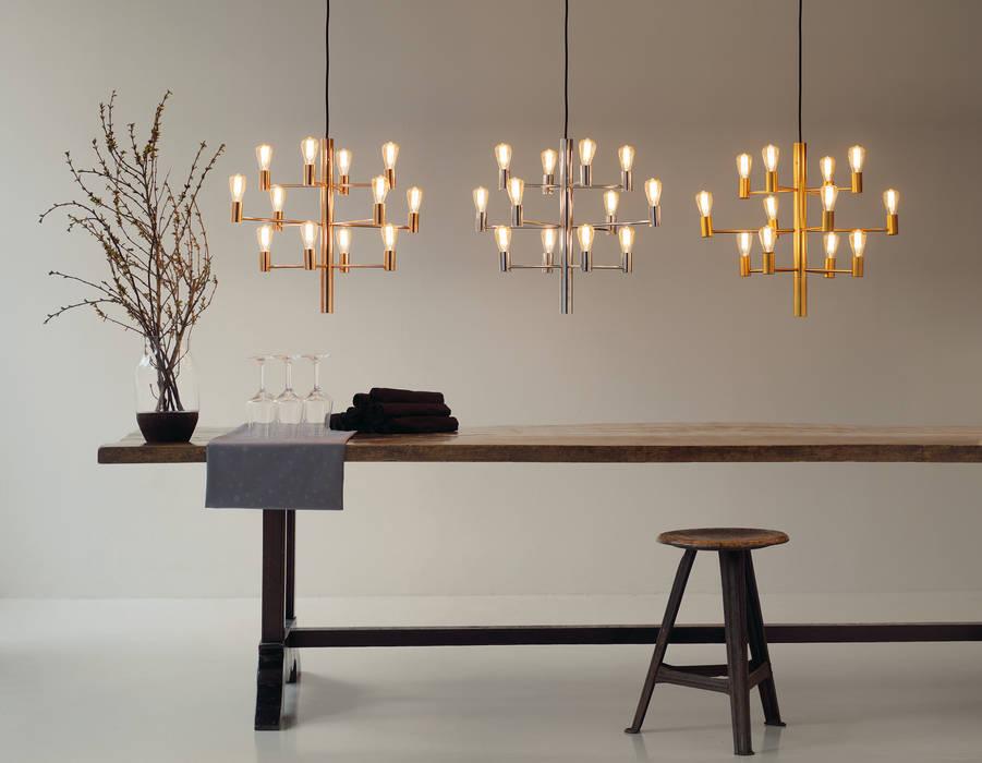 Chandeliers / Manola Modern dining room by Herstal A/S Modern