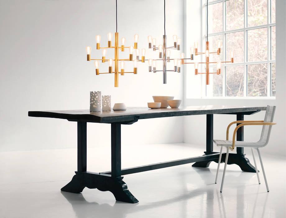 Chandeliers / Manola Salle à manger moderne par Herstal A/S Moderne