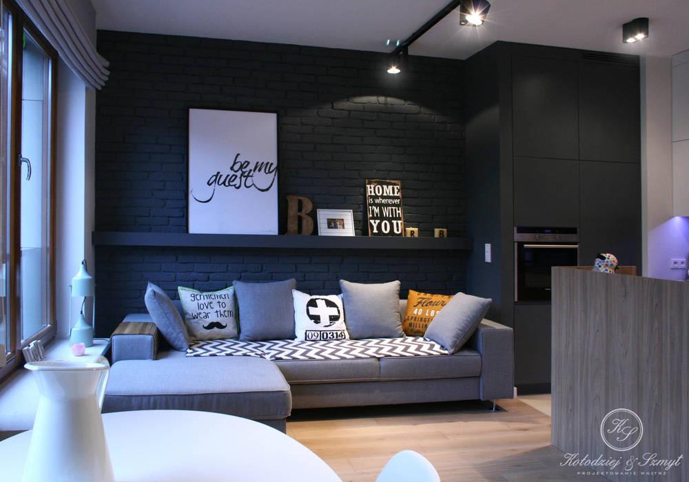 Kołodziej & Szmyt Projektowanie wnętrz Living room