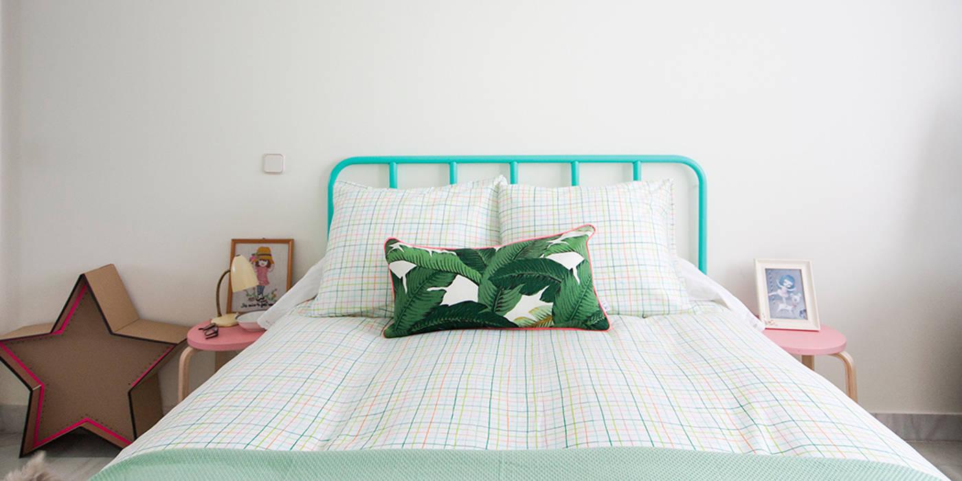 Tropical style bedroom by www.rocio-olmo.com Tropical