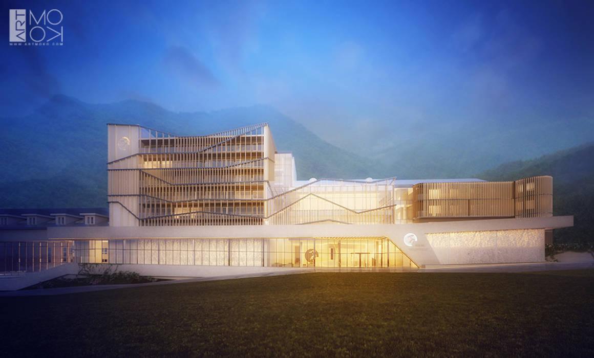 Projekt oświetlenia hotelu od Pracownia projektowa artMOKO Nowoczesny