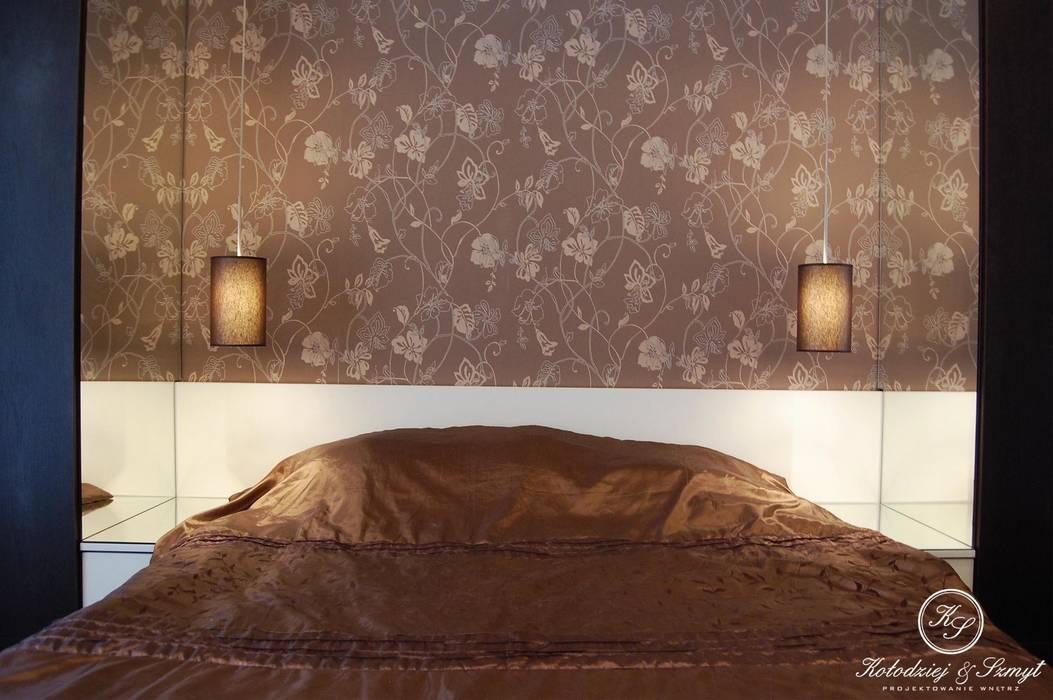 Kołodziej & Szmyt Projektowanie wnętrz Moderne Schlafzimmer