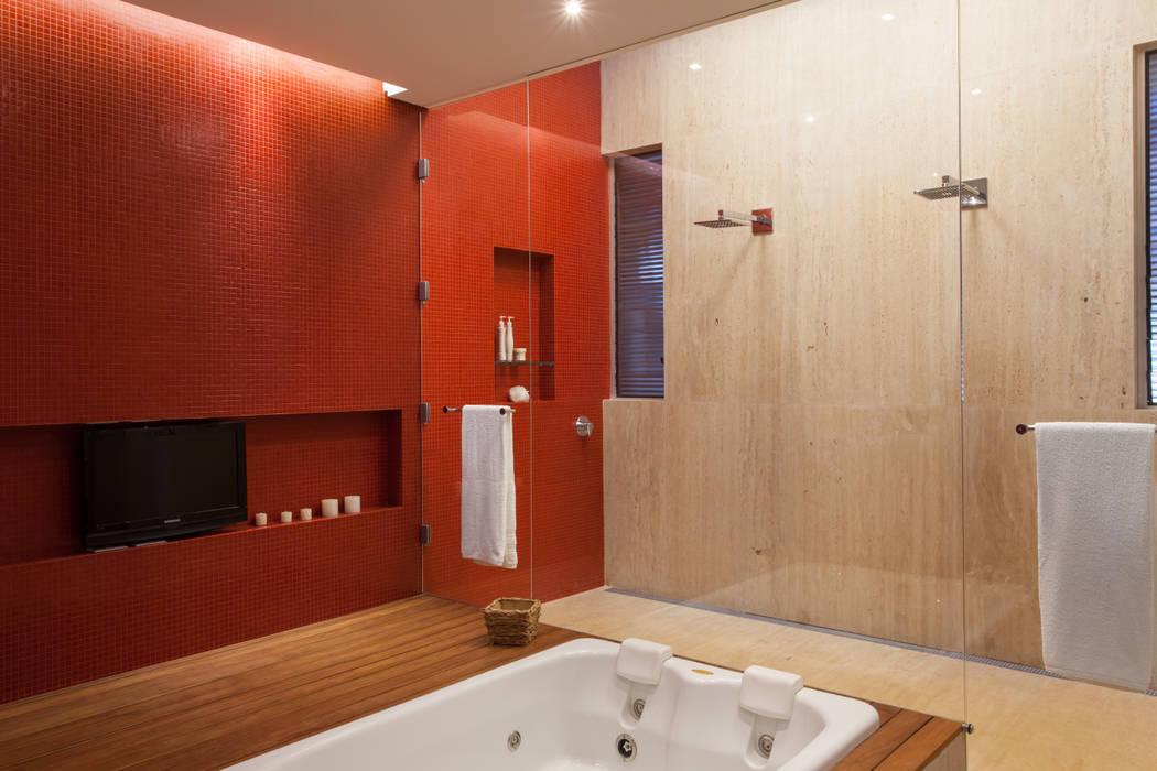 カントリースタイルの お風呂・バスルーム の Beth Nejm カントリー