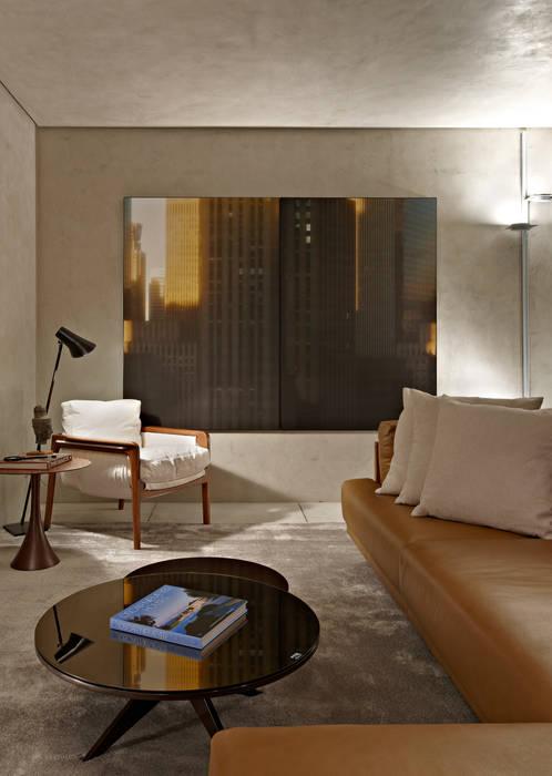 Minimalist living room by Ana Paula Carneiro Arquitetura e Interiores Minimalist