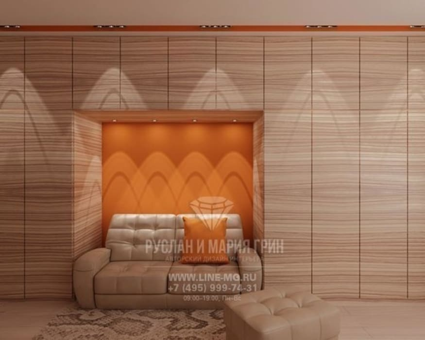 Кабинет в квартире: Рабочие кабинеты в . Автор – Студия дизайна интерьера Руслана и Марии Грин