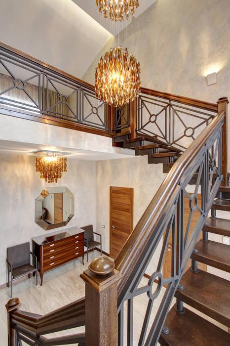 Лестница Технологии дизайна Коридор, прихожая и лестница в классическом стиле