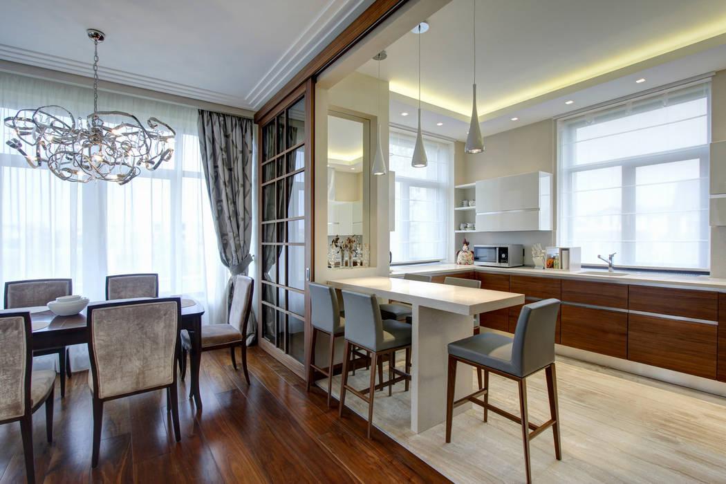 Барная стойка Столовая комната в классическом стиле от Технологии дизайна Классический