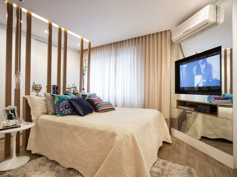 Modern Bedroom by Mundstock Arquitetura Modern