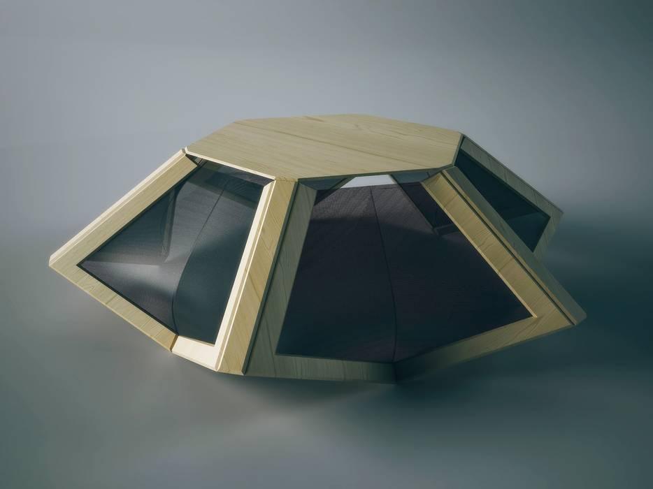 Programmable Table: Soggiorno in stile in stile Minimalista di Wood-Skin®