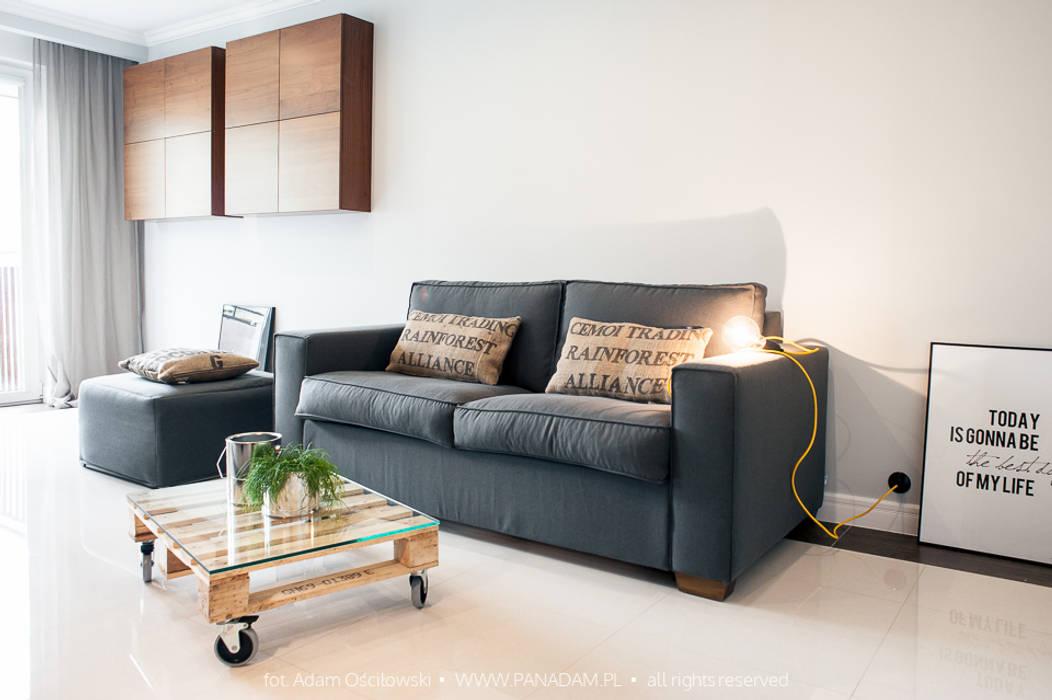 Livings de estilo minimalista de Arkadiusz Grzędzicki projektowanie wnętrz Minimalista