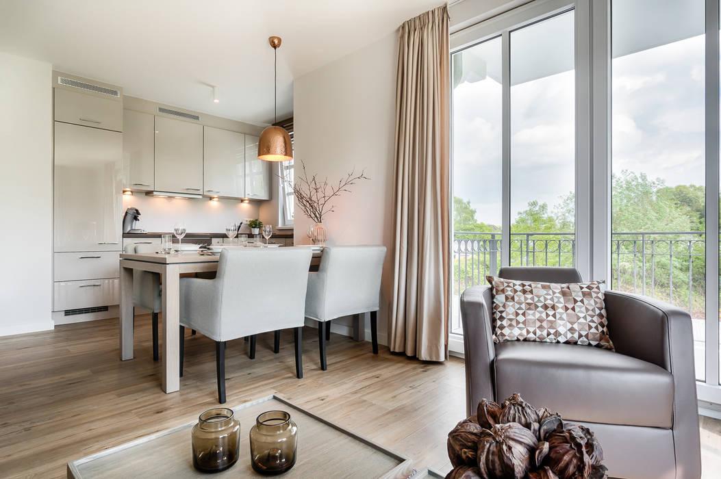 Appartement Heiligendamm Moderne Esszimmer von SALLIER WOHNEN HAMBURG Modern