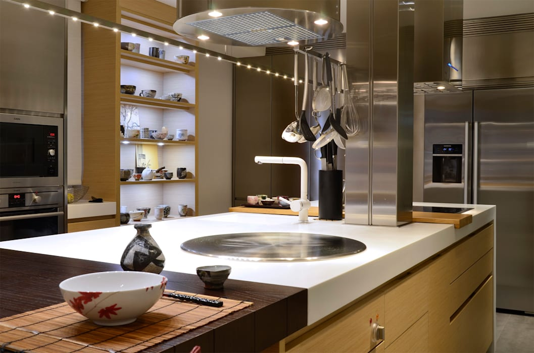 minimalistic Kitchen by Daifuku Designs