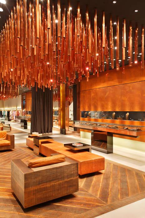 Animale: Lojas e imóveis comerciais  por Santa Irreverência Arquitetura Design e Construção,Moderno