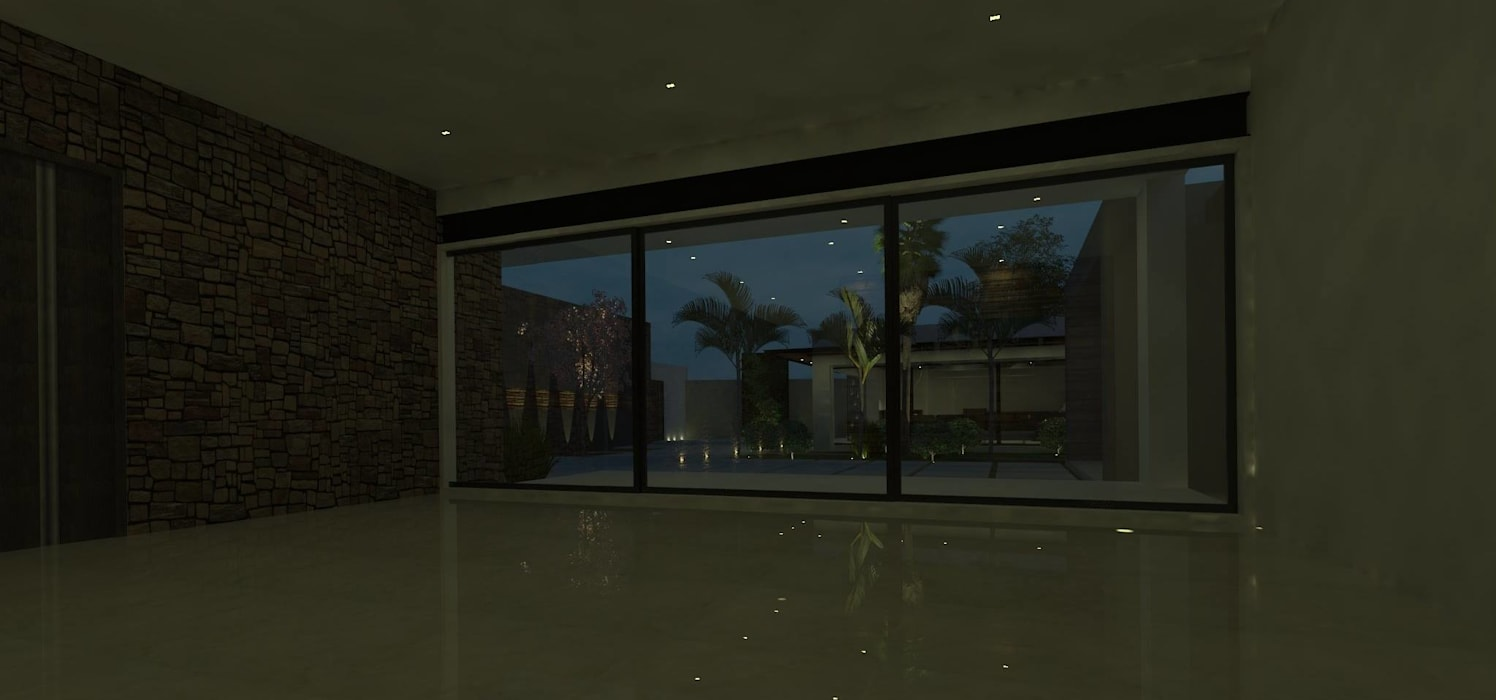 casa # 495: Comedores de estilo  por Taller R arquitectura, Moderno