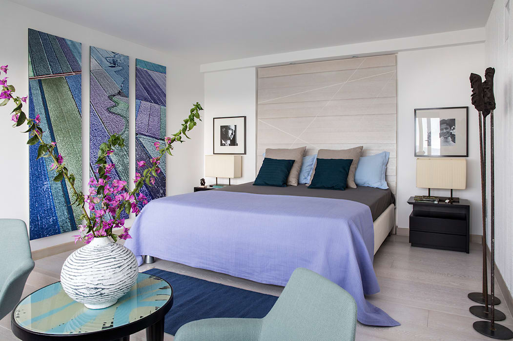 Camera da letto in stile di pdv studio di progettazione for Studio in camera da letto