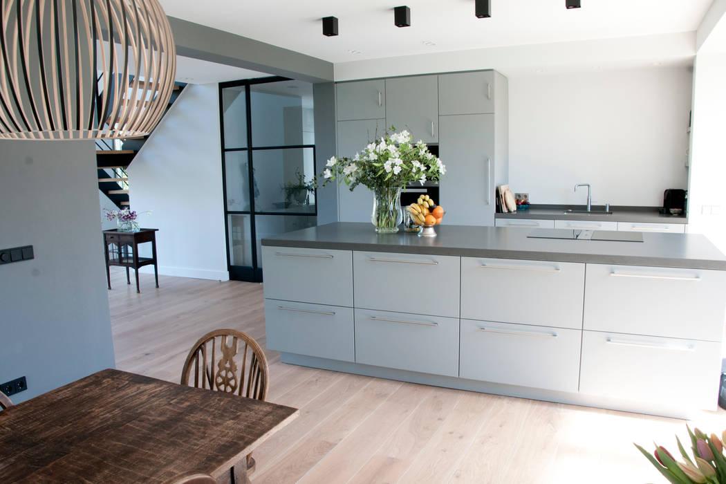 woonkeuken zilva vloeren Moderne keukens van Zilva Vloeren Modern