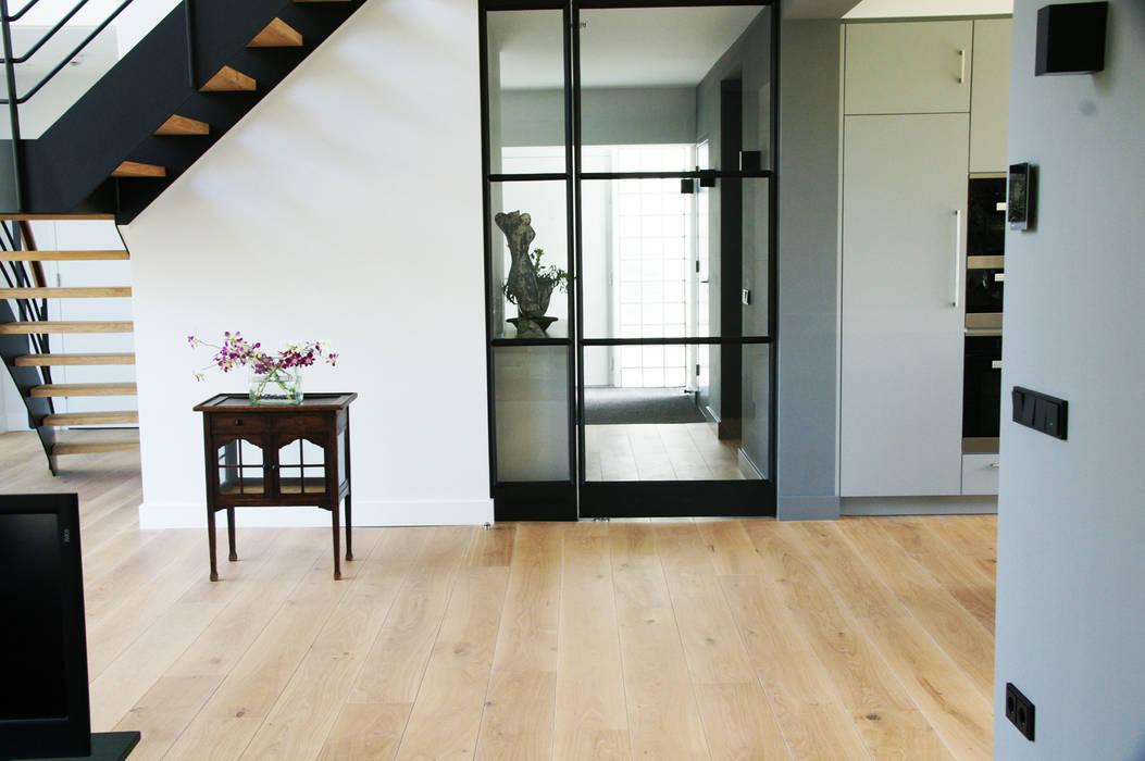Prachtig licht woonhuis in combinatie met een houten vloer van