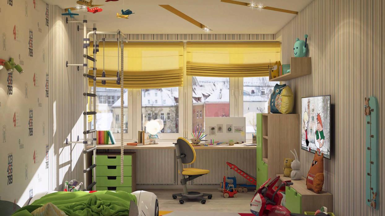 Детская: Детские комнаты в . Автор – tatarintsevadesign