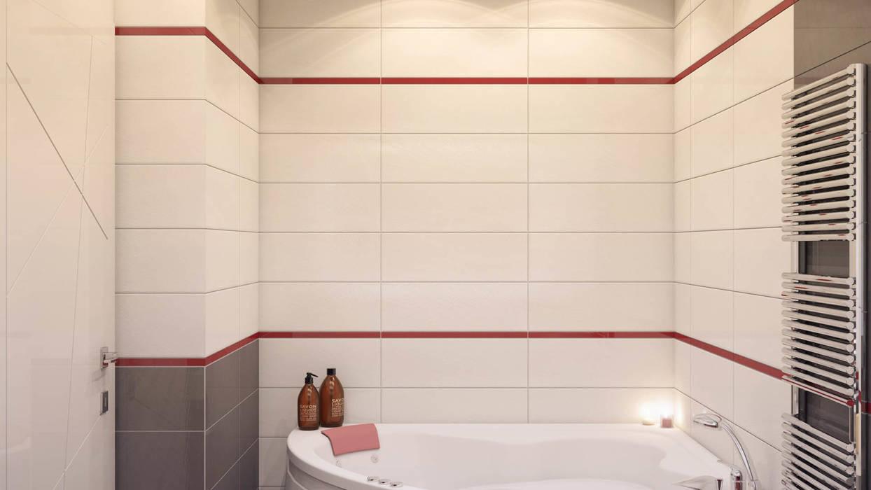Ванная: Ванные комнаты в . Автор – tatarintsevadesign, Минимализм