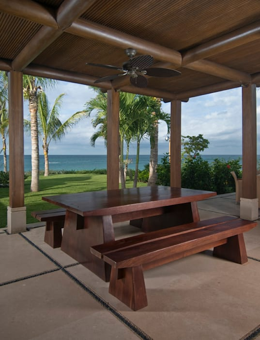 Casa Taheima.:  de estilo tropical por BR  ARQUITECTOS, Tropical