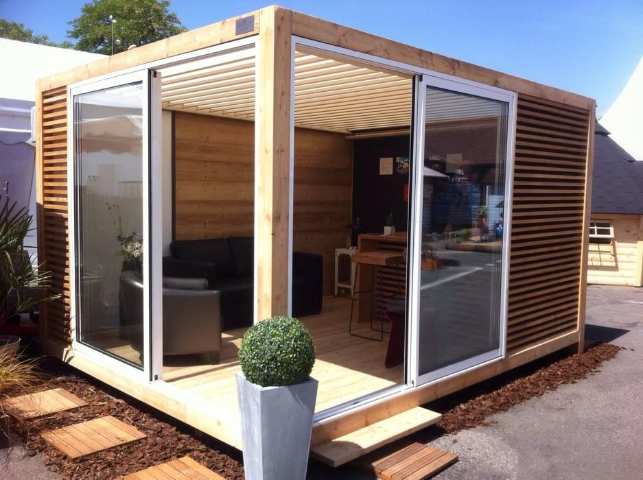Abri design OUTSUN homify JardinAbris de jardin & serres