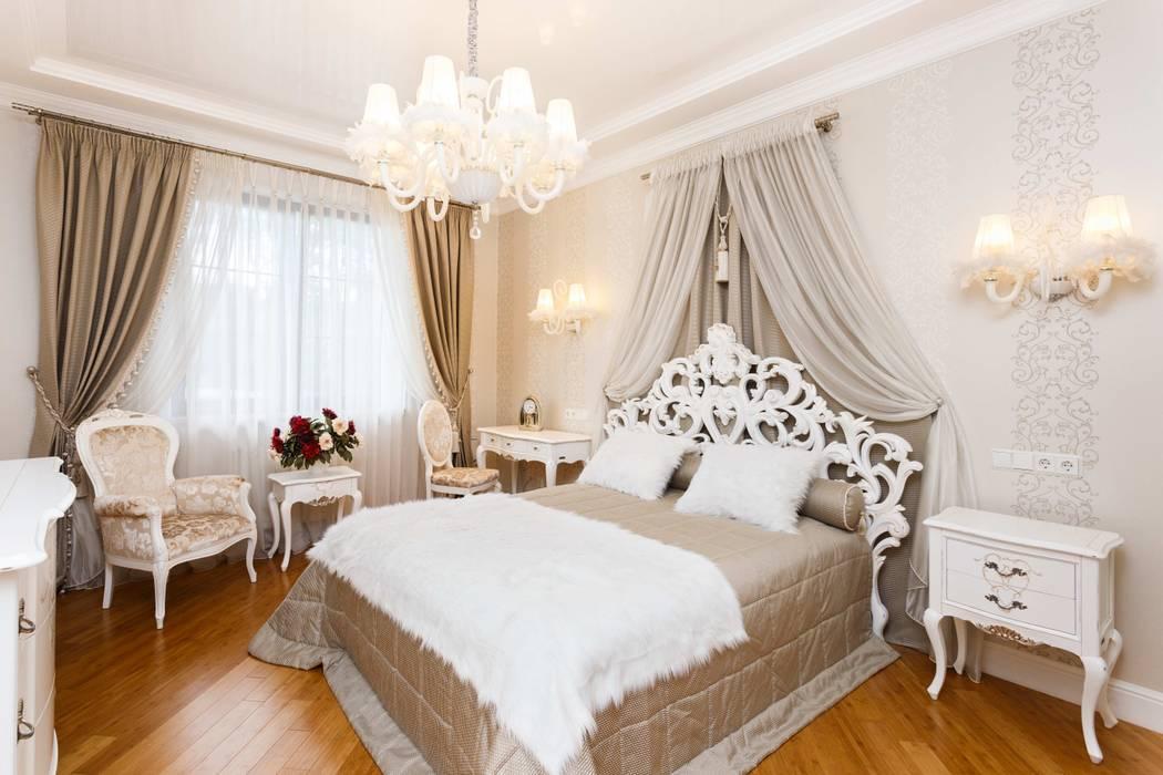 Дом в г.Калининграде: Спальни в . Автор – AGRAFFE design, Классический