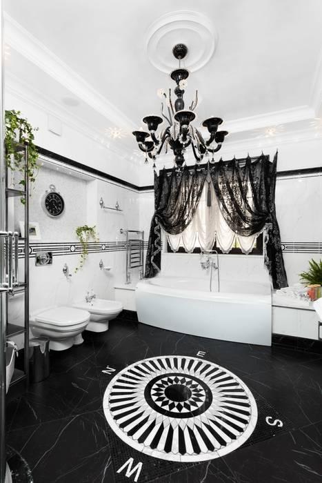 Klasyczna łazienka od AGRAFFE design Klasyczny