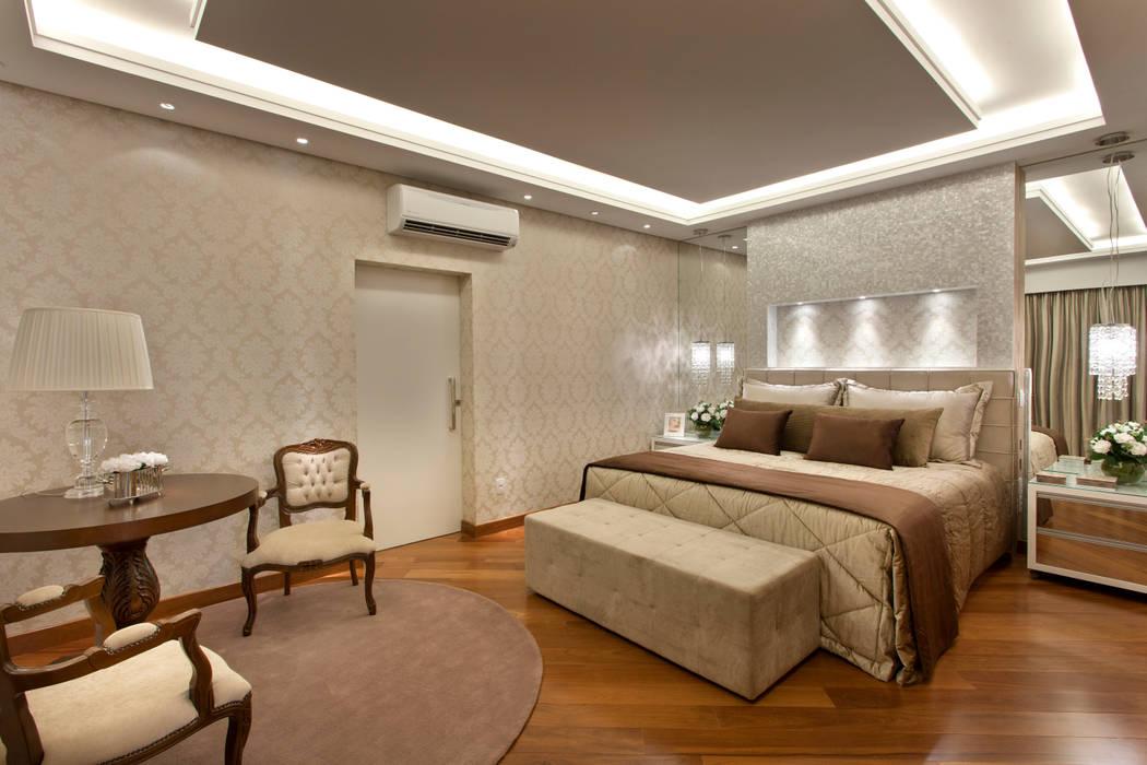 Arquiteto Aquiles Nícolas Kílaris ห้องนอน