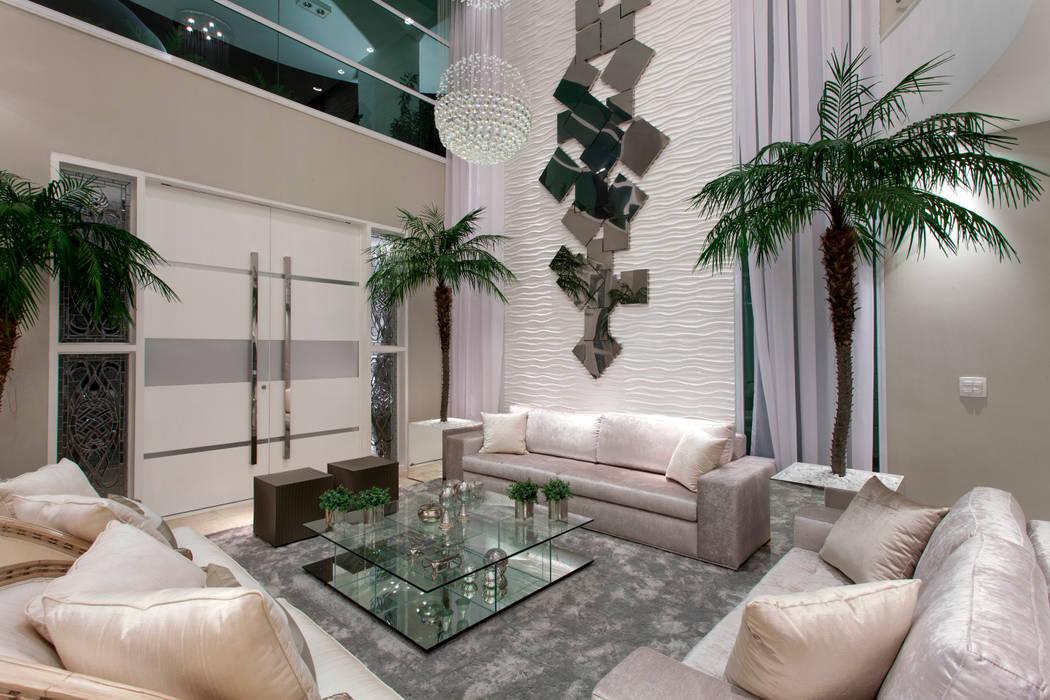 Salas de estilo moderno de Arquiteto Aquiles Nícolas Kílaris Moderno