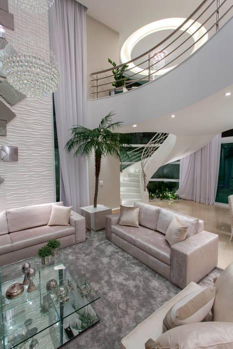 Living room by Arquiteto Aquiles Nícolas Kílaris, Modern