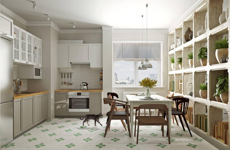 Kitchen by Aleksey Bereznyak