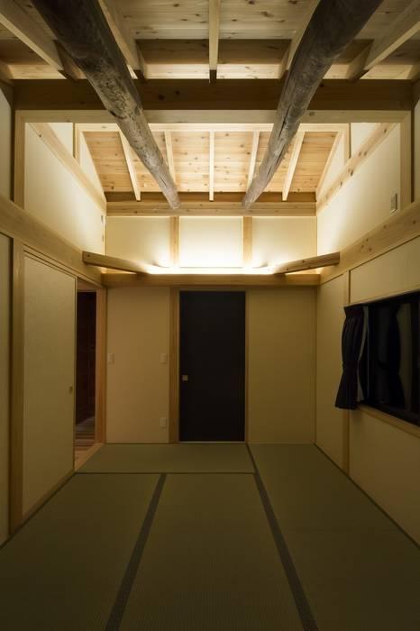 寝室 オリジナルスタイルの 寝室 の 木の家設計室 アトリエ椿 オリジナル