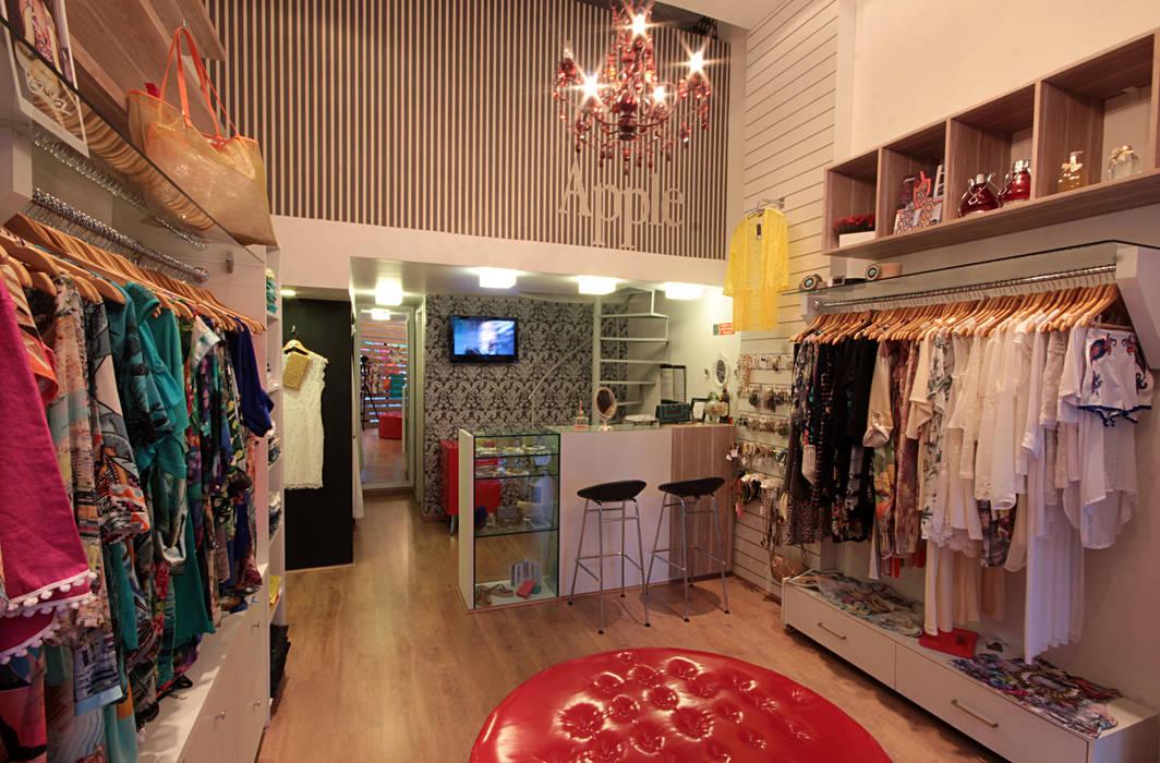 f9c253b36 Loja Apple - moda feminina  Lojas e imóveis comerciais por Celia Beatriz  Arquitetura