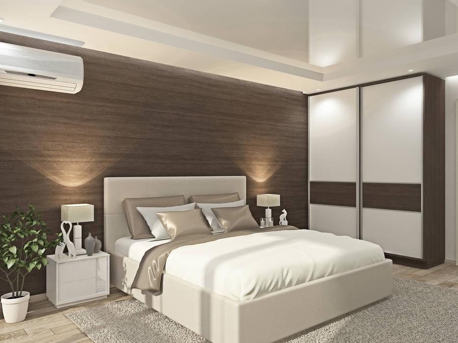 Спальня: Спальни в . Автор – Kalista, Эклектичный