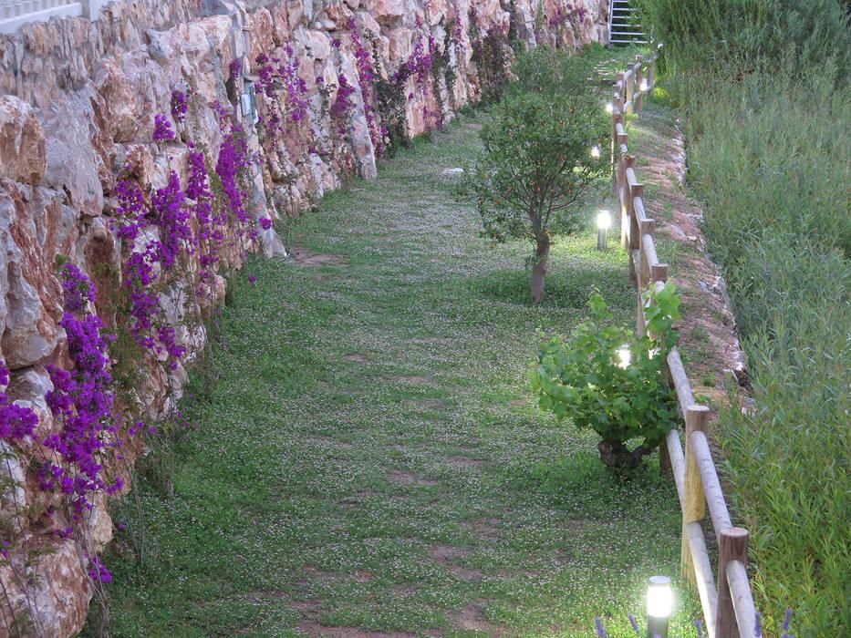 Jardin méditerranéen par LANDSHAFT Méditerranéen