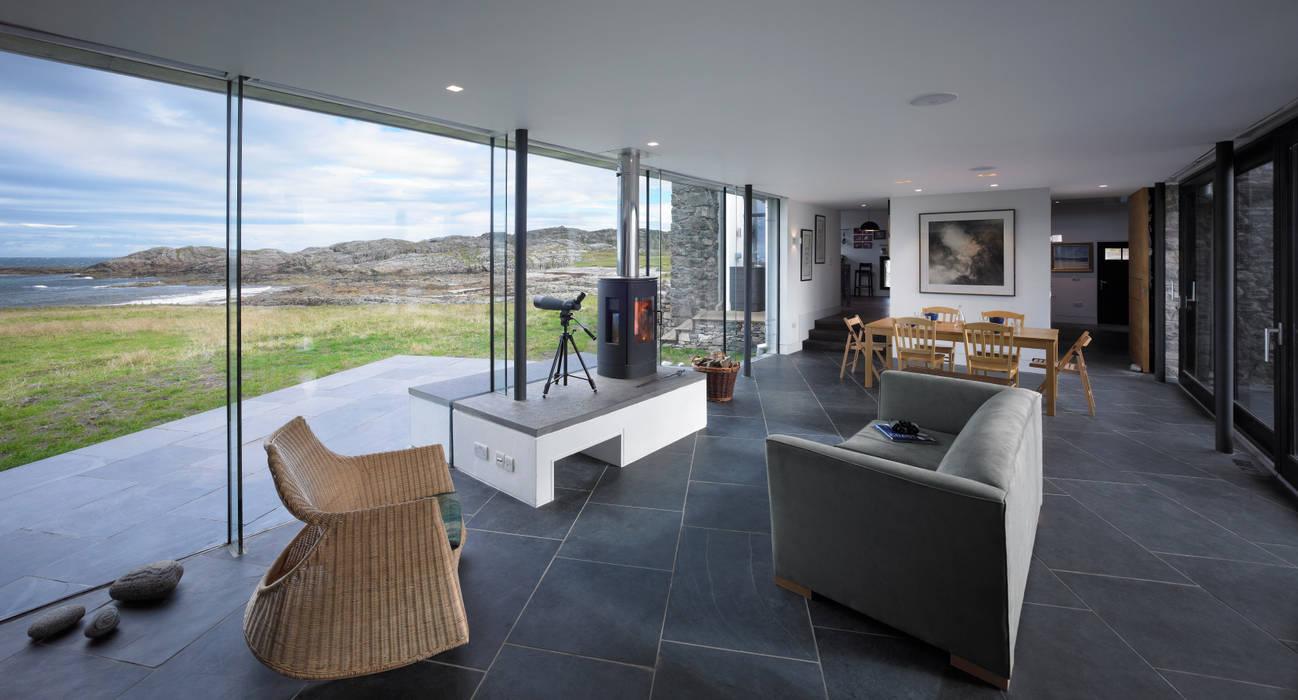 Living Dining Space Livings de estilo moderno de WT Architecture Moderno