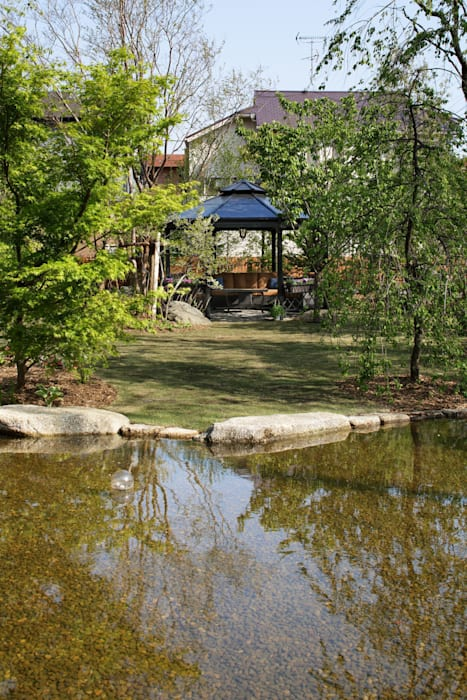 ガゼボ オリジナルな 庭 の 秦造園 オリジナル