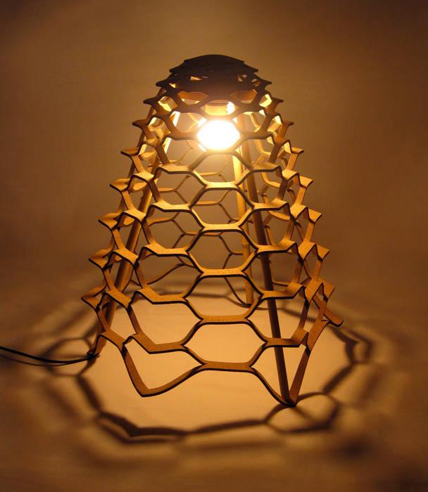 Gaea -  Cormatters floor lamp:  Woonkamer door Tiago Sa da Costa Studio