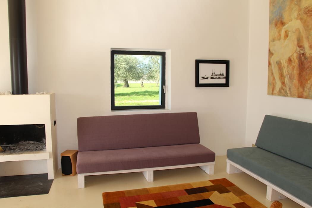 Living room by Antonio D'aprile Architetto, Modern