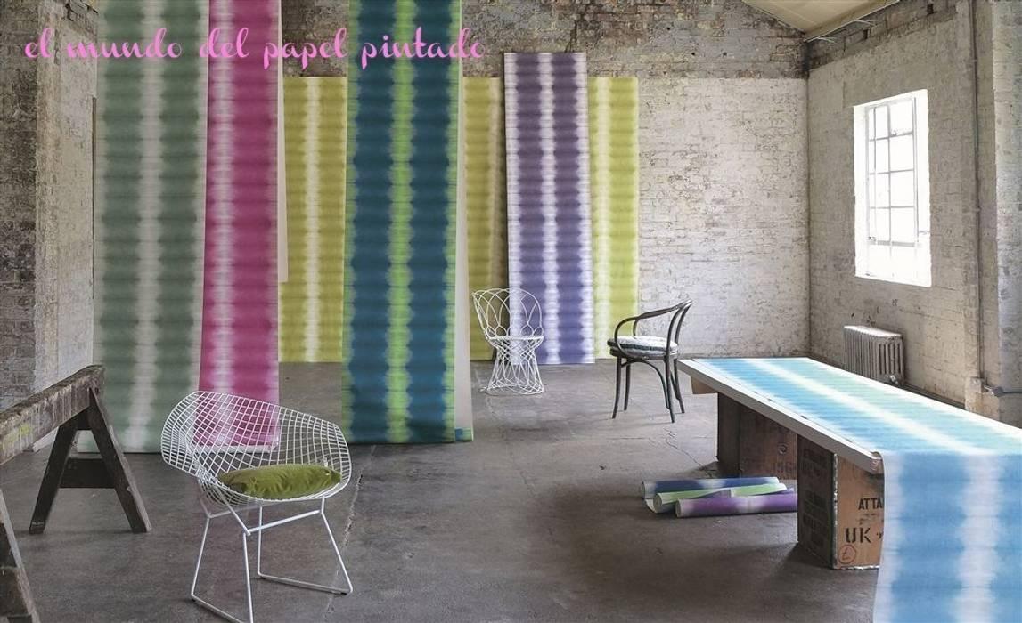 Designers guild savine paredes y suelos de estilo de el - Designers guild papel pintado ...