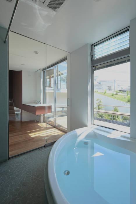 浴室 モダンスタイルの お風呂 の 工藤宏仁建築設計事務所 モダン