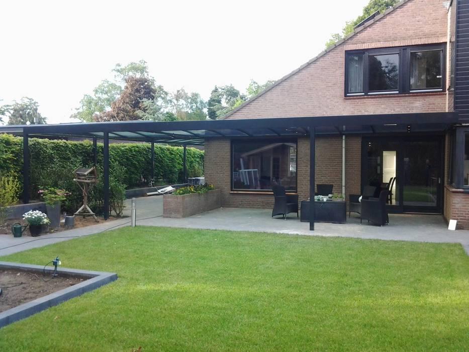 terrasoverkapping Moderne garage van Carport Harderwijk Modern
