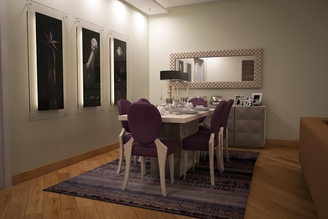 Salle à manger de style  par Sonmez Mobilya Avantgarde Boutique Modoko