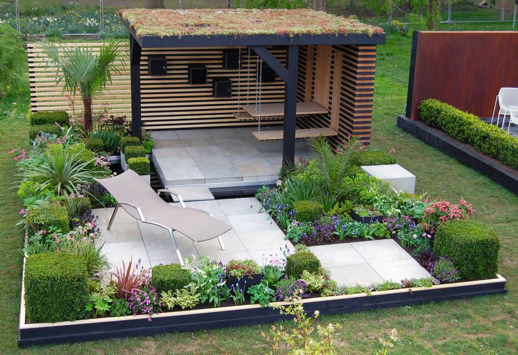 Office Box Modern garden by Robert Hughes Garden Design Modern