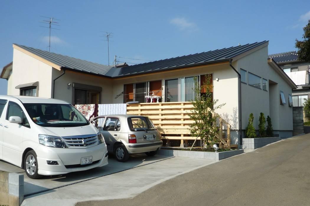 外観 日本家屋・アジアの家 の 石井設計事務所/Ishii Design Office 和風