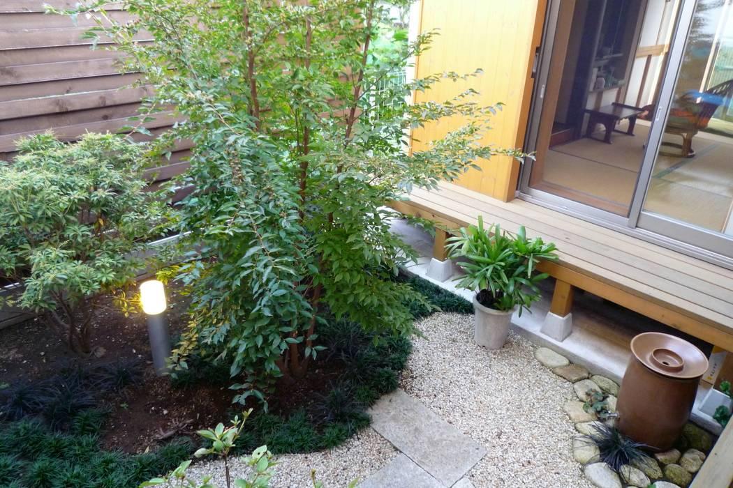 中庭 日本家屋・アジアの家 の 石井設計事務所/Ishii Design Office 和風