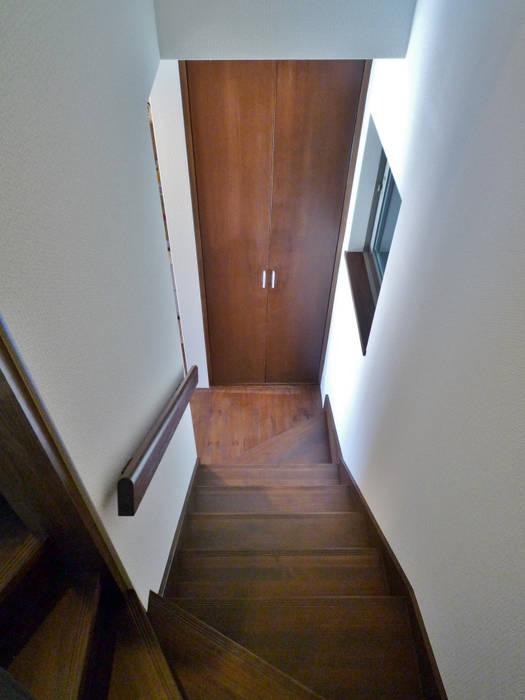 階段室 モダンスタイルの 玄関&廊下&階段 の 石井設計事務所/Ishii Design Office モダン