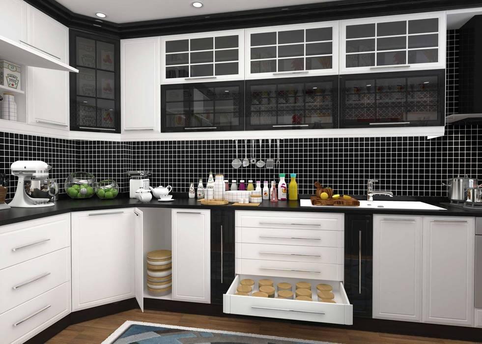 Kitchen by GN İÇ MİMARLIK OFİSİ