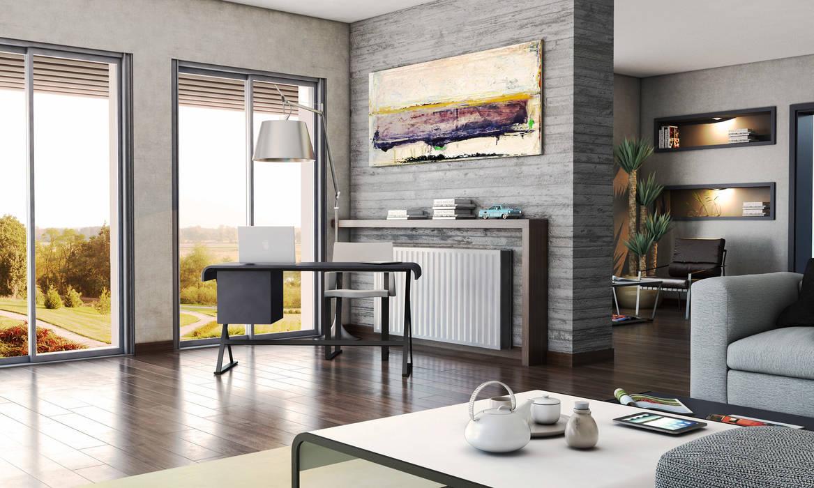 Moderne Wohnzimmer von FARGO DESIGNS Modern