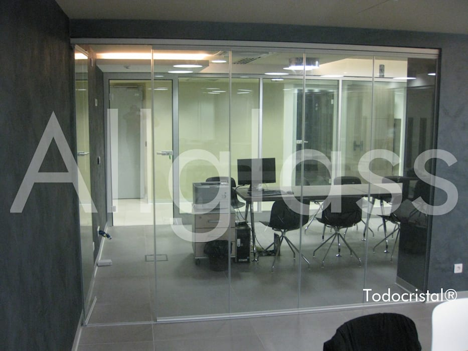 Office buildings by ALLGLASS CONFORT SYSTEM